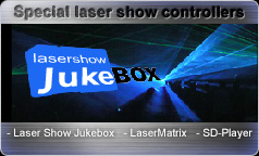 Special Laser Show Controllers